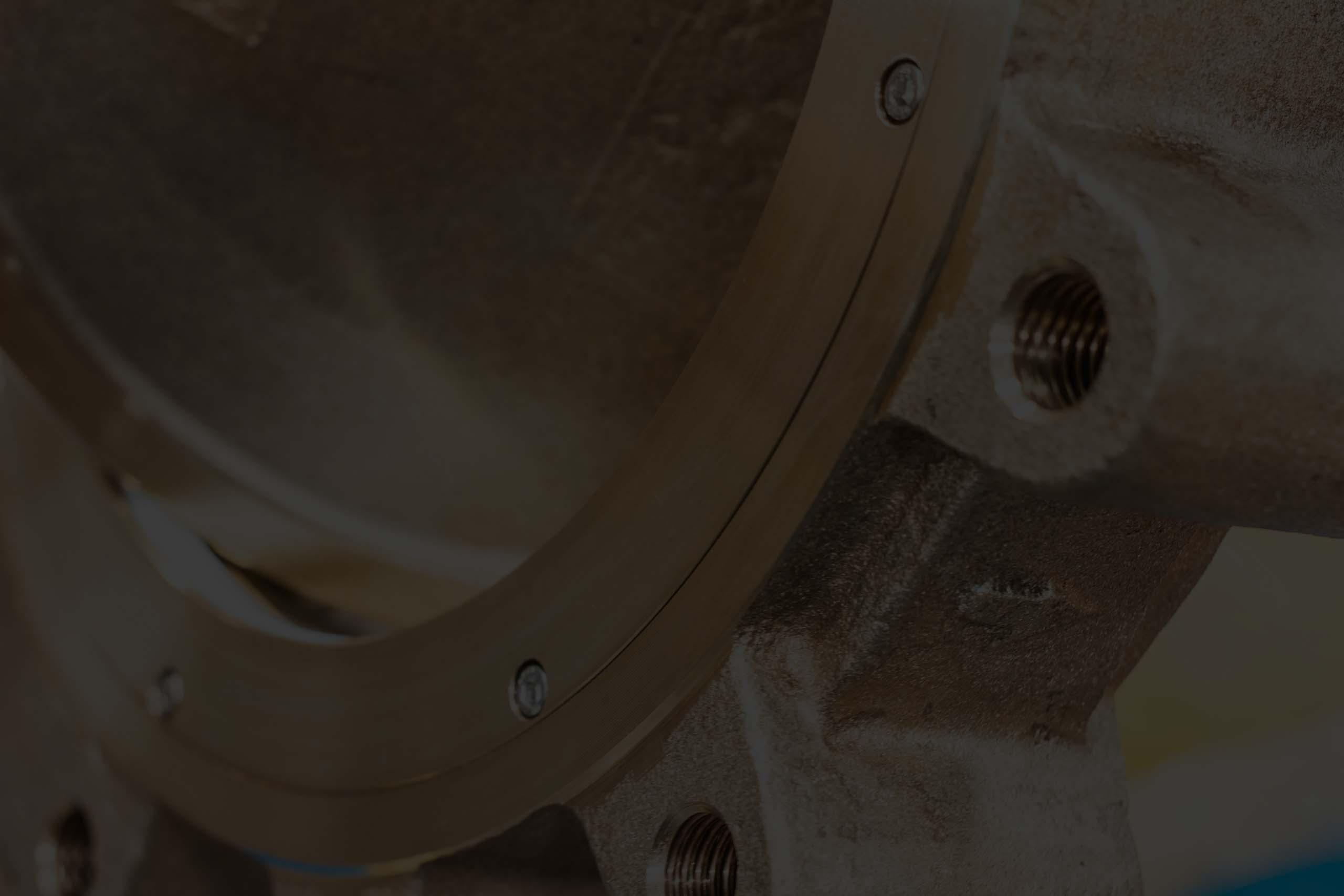"""14"""" Class 150, Nickel Aluminum Bronze, Double Offset Butterfly Valves w/ Gear Operator"""